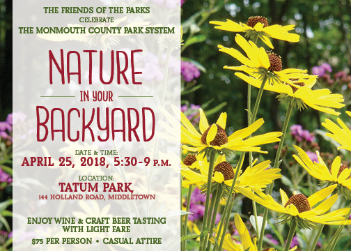 Save the Date Nature in Your Backyard