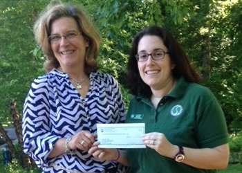 Thank you to the Atlantic Club for 70,000 Step donation to Friends and Therapeutic Recreation.